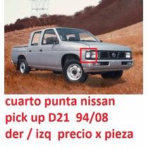 Cuarto Punta Derecho Salpicadero Pickup D21 94-08 Gris Ofert