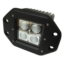 Faro Empotrable Cree Led 16w Jeep 4x4 Atv Moto Rzr Dually
