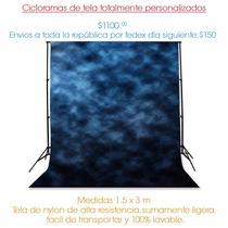 Fondos Fotográficos 100% Personalizados, Fabricados En Tela.