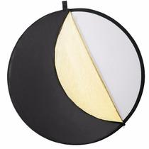 Panel Circular Reflector De Luz Para Fotografia. Plegable