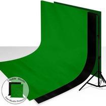 Muselina Para Estudio Fotográfico Limo Estudio Negro Verde