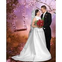 Pack De Bodas Plantillas De Photoshop Para Fotomontajes .psd