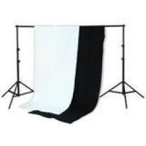 Portafondos Fondo Blanco Negro Fotografico Iluminacion Pm0