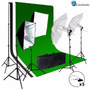 Set Pantalla Verde Limostudio Photo Video Studio Light.