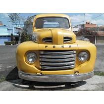 Ford Pick Up 1949 Restaurada En Muy Buenas Condiciones