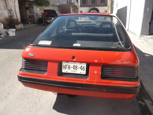 Ford Mustang Fastback Svo 1984 Original Con Equipo Extra