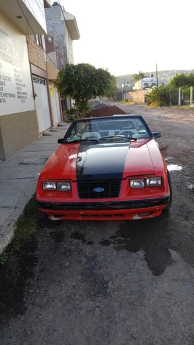 Ford Mustang Mustang Convertble 84 1984