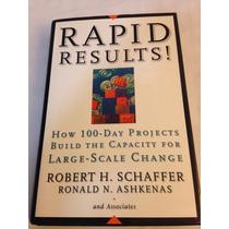 Libro Rapid Results! H.schaffer, Robert!! Usado!