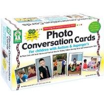 Principales Tarjetas De Conversación En Educación De La Foto