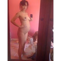 Bella Chica Embarazada Se Toma Fotos Desnuda 120 Fotos+extra