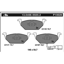 Balatas Ate Delantera Beetle 2.0 98-11 Toledo 01-05 Sensor