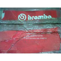 Tambores Brembo Para Chevy / Hiper Ventilados Discos