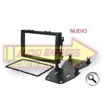 Base Frente Estereo Jeep Commander 2008 A 2010 Doble Din