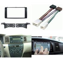 Kit Adaptador Frente Y Arnes Toyota Corolla Año 2003 A 2008