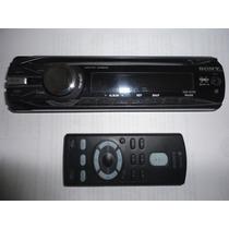 Frente Y Control Remoto De Stereo Sony