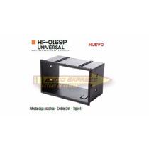 Base Frente Adaptador Estereo Media Caja Plastica Tipo 4