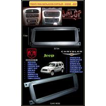 Frente Adaptador Para Estereo De Chrysler, Jeep. Neon 2000