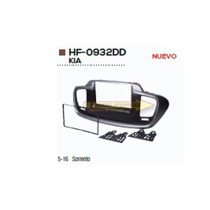 Base Frente Adaptador Estereo Kia Sorrento 2015-16 Hf0932dd