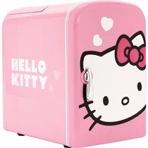 Mini Refri Refrigerador Sakar 76009 Hello Kitty Para 6 Latas