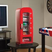 Refrigerador Dispensador De Coca Cola Retro Hasta 10 Latas
