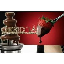 Fuente De Chocolate, Queso Y Chamoy Choco La