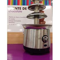 Fuente De Chocolate Chamoy Queso Para Fiestas Eventos Finos