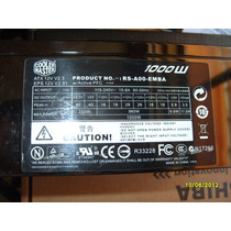Gammer Cooler Master 1000w Sli 80 Plus Rs-a00-emba Bfn