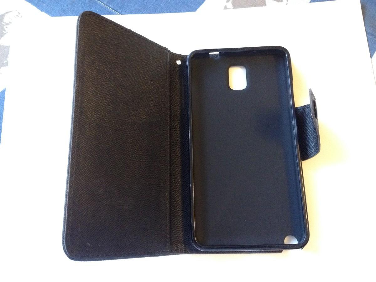 Funda cartera protectora para celular samsung galaxy note - Fundas de telefonos moviles ...