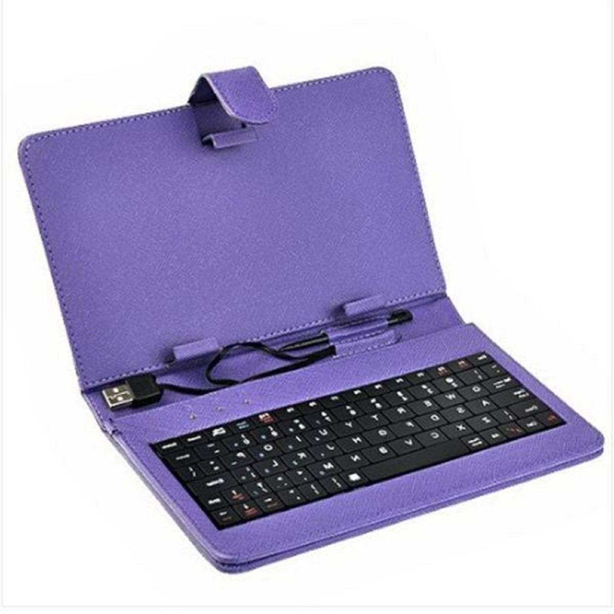 Funda con teclado usb para tablet 8 pulgadas stylus qwerty en mercadolibre - Fundas con teclado para tablet ...