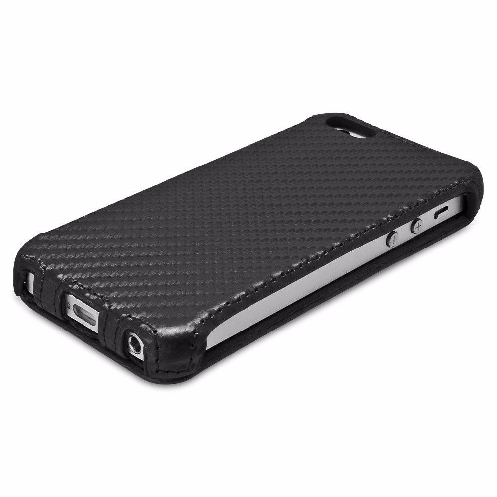 Funda de cuero para apple iphone 5 5s en mercadolibre - Funda de piel para iphone 5 ...