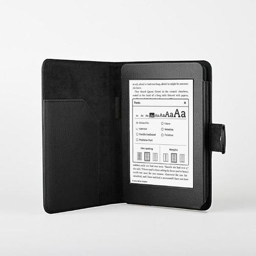 Funda kindle paperwhite tipo cartera piel sintetica colores en mercadolibre - Kindle funda ...