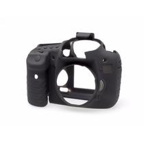 Canon Eos 7d Funda De Silicon Color Negro