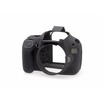 Canon Eos Rebel T3 Funda De Silicon Color Negro