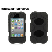 Funda Protector Uso Rudo Tipo Survivor Iphone 4 , 4s Y 5