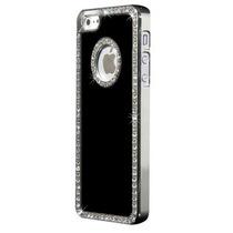 Funda/bumper Iphone 4/4s Cristales Swarovski Orignal Negra
