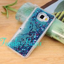 Funda A7 2016 A710 Estrellas Agua Brillos Cascada Samsung