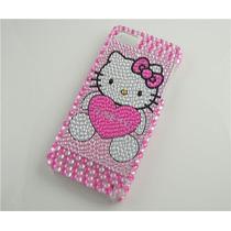 Entrega Inmediata Carcasa Pedreria Hello Kitty Iphone 5