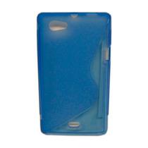 Protector Tpu Sony Ericcson Xperia Miro St23i Azul
