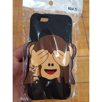 Funda Protector Chango Cara Emoticon Samsung Galaxy S6