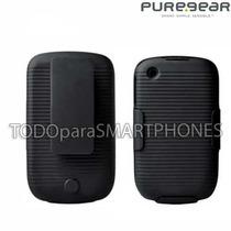 Funda Puregear/verizon Blackberry 9300 8520 Con Clip Holster