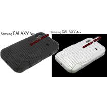 Galaxy Ace Funda Dual Doble Capa Silicon Y Policarbonato