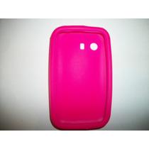 Protector Silicon Case Samsung Galaxy Young S5360 Color Rosa