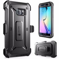 Galaxy S6 - S6 Edge Funda Holster Con Clip Supcase Unicorn B