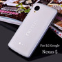 Funda Lg Google Nexus 5 Ultra Delgada Tpu 0.3mm *colores*