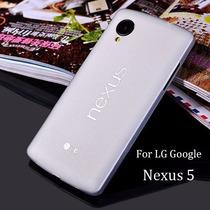 Funda Lg Google Nexus 5 Ultra Delgada Tpu 0.3mm *colores*