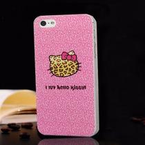 Funda Protectora De Hello Kitty Para Iphone 5 / 5s