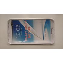 Funda Tpu Hibrida Galaxy Note 2 N7100 Stand Blanca
