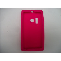 Protector Silicon Case Nokia Lumia 505 Color Rosa!