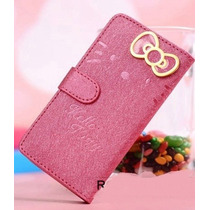 Funda Case Piel Hello Kitty Iphone 5/5s Hm4
