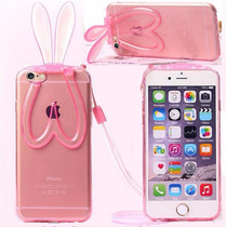 Bumper Silicon Orejas Conejo Estilo Playboy - Iphone 5